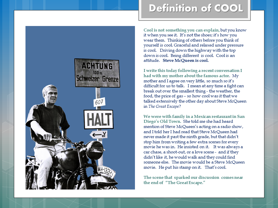 jay's museum of college writing: Jay's Movie Dictionary