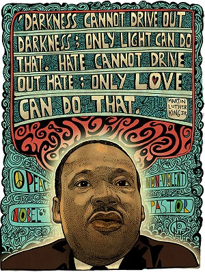 Martin luther king - dream - love - 50