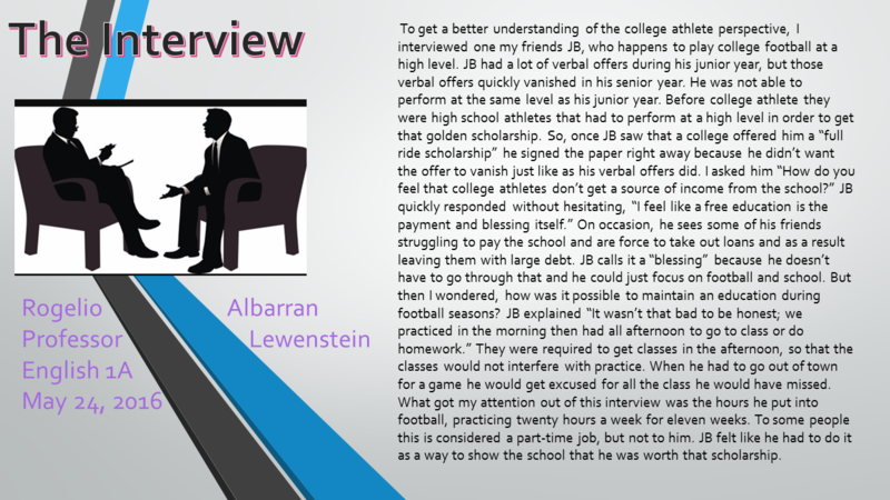 Rogelio albarran - The Interview