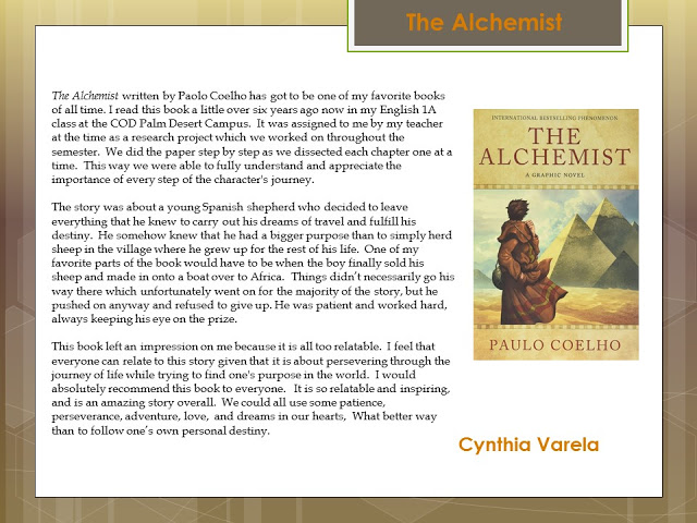 Cynthia - the alchemist